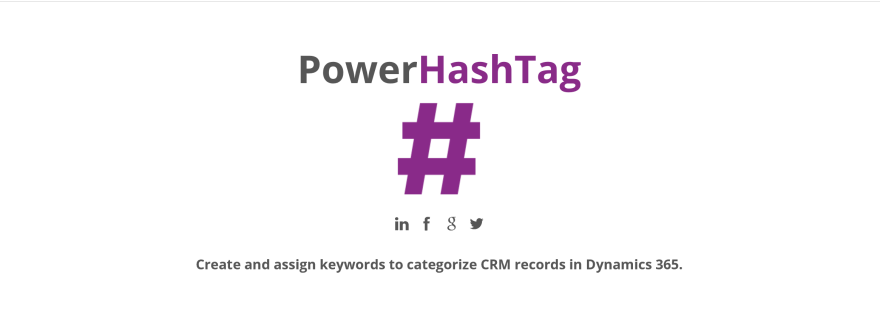 Extending PowerHashTag solution with Flow for PowerApps