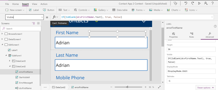 Implementing a web form check sum group validation for