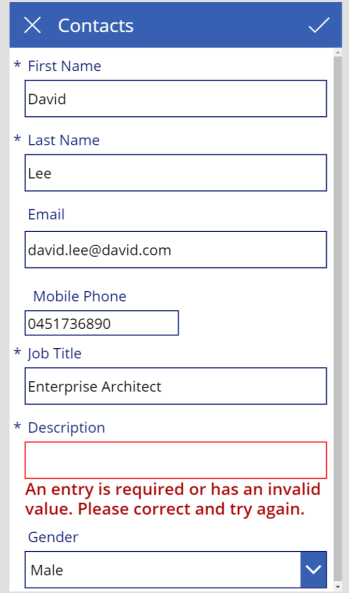 Multiple ways to implement the required field validation in